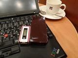 ドトールコーヒーでThinkPad